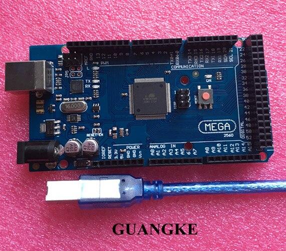 10pcs Mega 2560 R3 Mega2560 REV3 ATmega2560-16AU,ATMEGA16U2-MU Board + USB Cable compatible 10set10pcs Mega 2560 R3 Mega2560 REV3 ATmega2560-16AU,ATMEGA16U2-MU Board + USB Cable compatible 10set