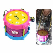 5pcs Kids Children Toy Gift Roll Drum Musical Instruments Band Kit New Hot #K4UE# Drop Ship