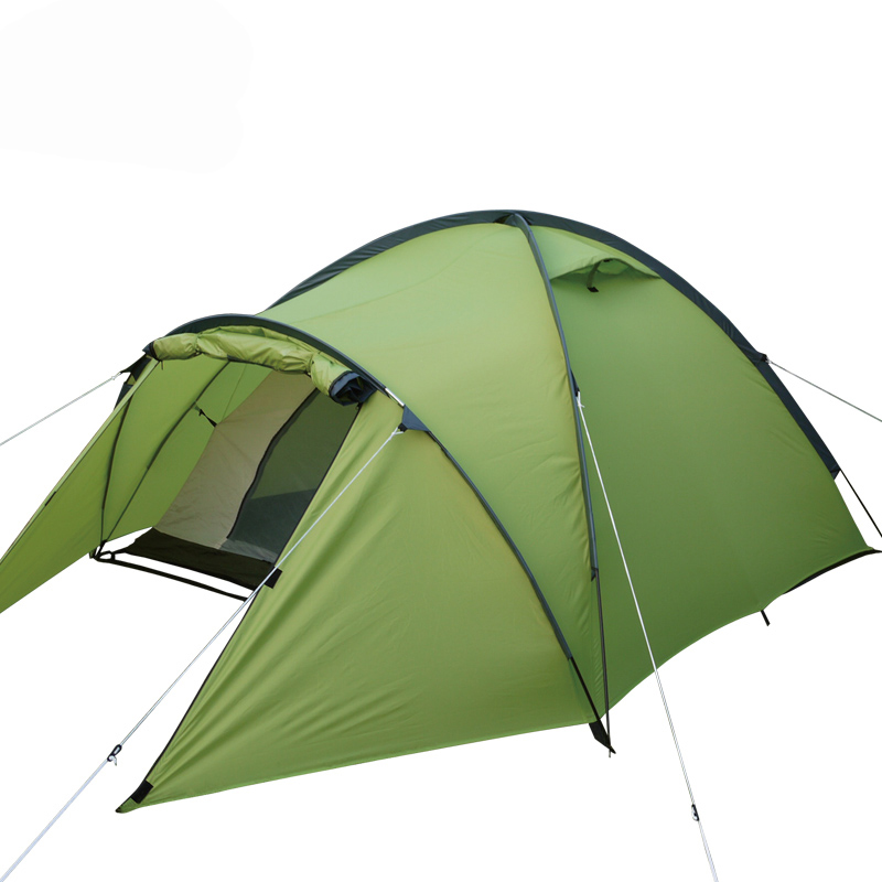High quality professional camping tent suitable for 2-3persons double layer anti big rain 1hall 1room outdoor family tent high quality professional camping tent suitable for 2 3persons double layer anti big rain 1hall 1room outdoor family tent