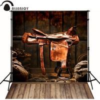 Allenjoy Photographic Background Wood Harness Horse Feed Newborn Vinyl Backdrops Photocall Custom Wood