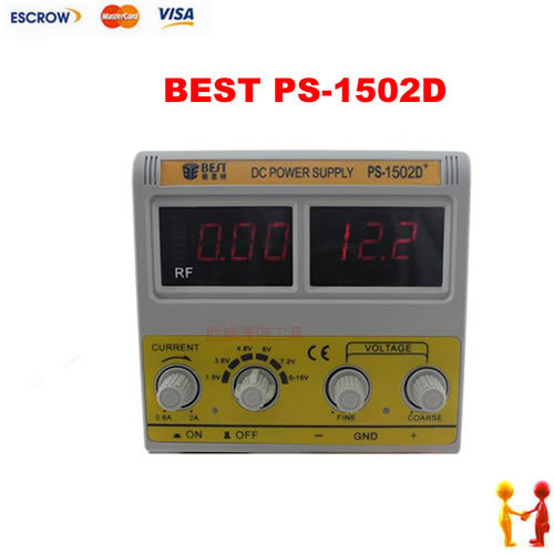 BEST PS-1502D single channel 0-15V/0-2A Digital DC POWER SUPPLY, for Mobile phone repair. BEST PS 1502D kiss лак для ногтей карамельное яблоко kiss mini nail polish mnp32 8 мл