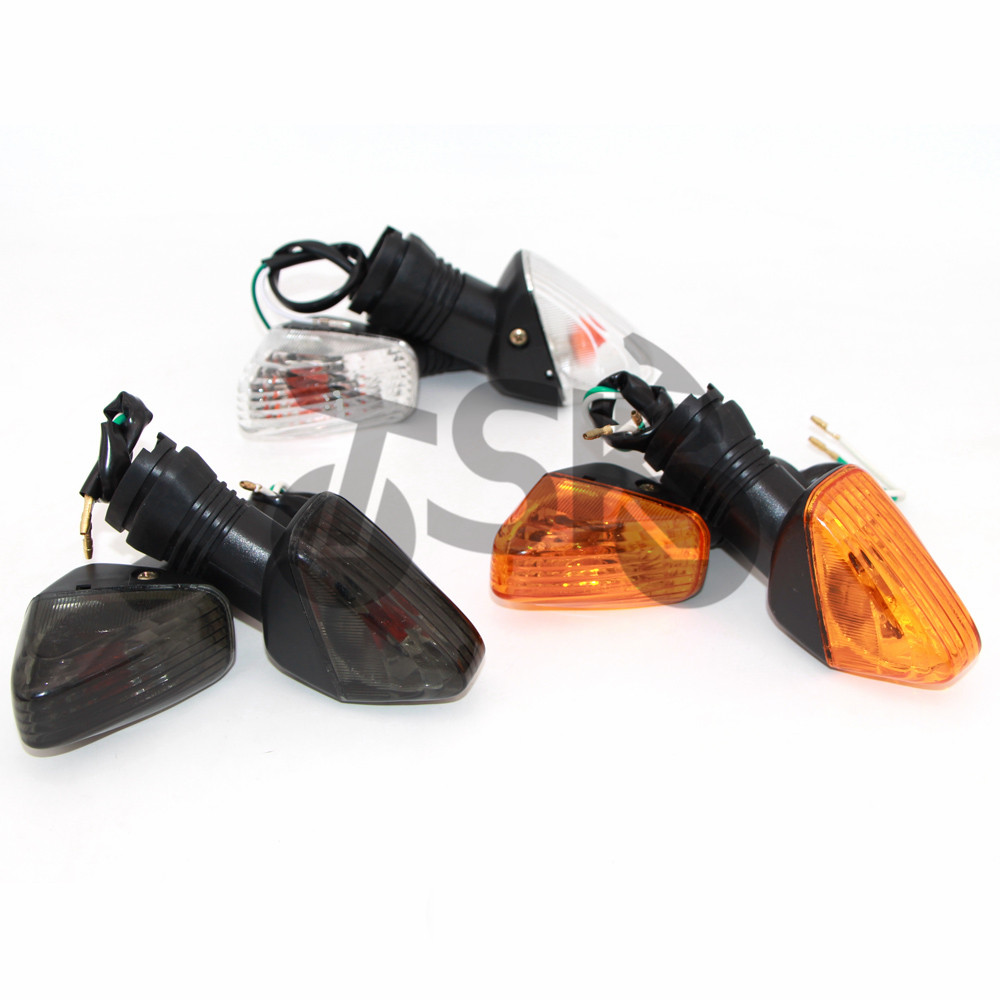 Turn Signal Indicator Light For KAWASAKI ZX 6R ZX 6RR Z750S KLE 500/650 VERSYS KLR650 Motorcycle Front/Rear Blinker Lamp