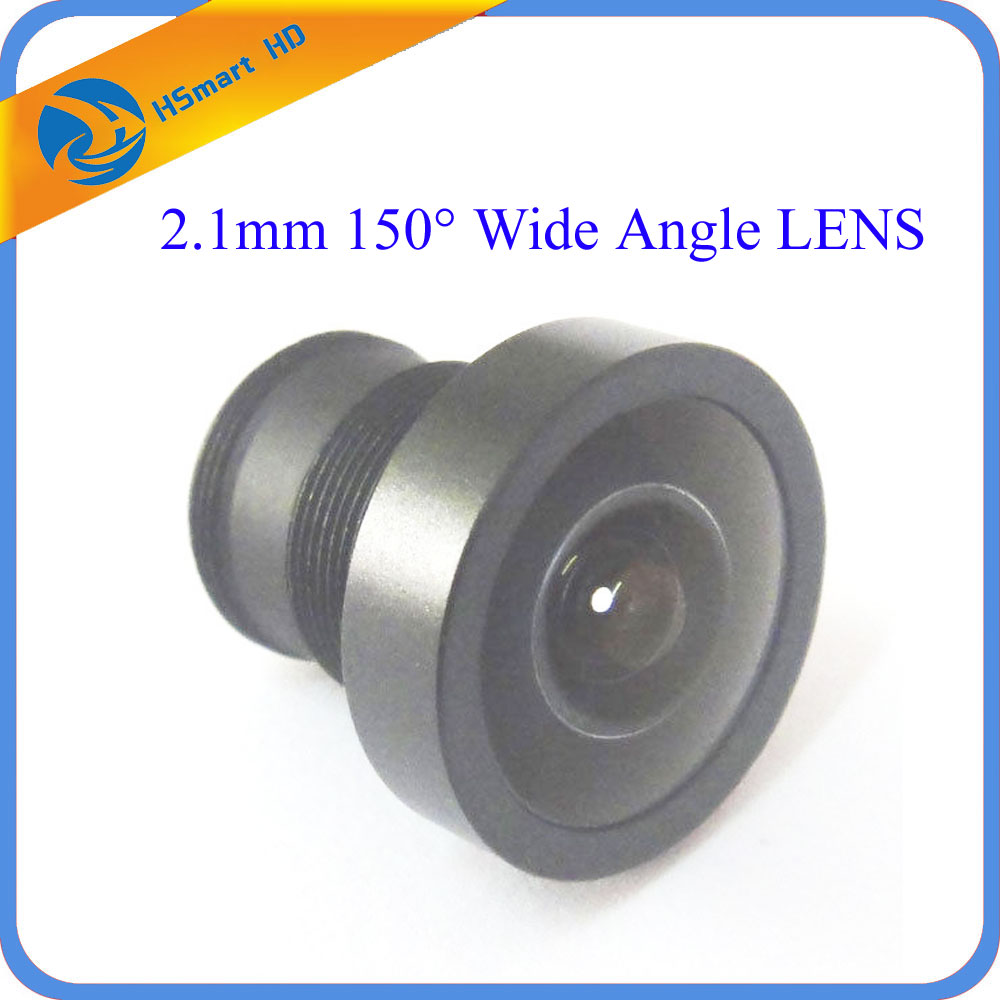 New 2.1mm 150 Degree Wide Angle CCTV Lens IR Board Lenses for 1/3 inch 1/4 inch CCD Camera 2 8mm 115 degree wide angle lens fixed cctv camera ir board for 1 3 and 1 4 ccd camera