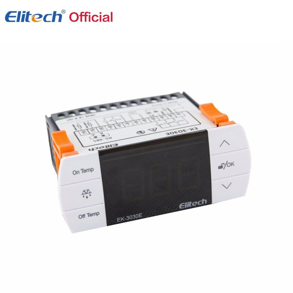LED Digital Temperature Controller Thermostat Incubator 220V 10A with Heater and Cool European standard two relay output led digital temperature controller thermostat incubator stc 1000 110v 220v 12v 24v 10a with heater and cooler