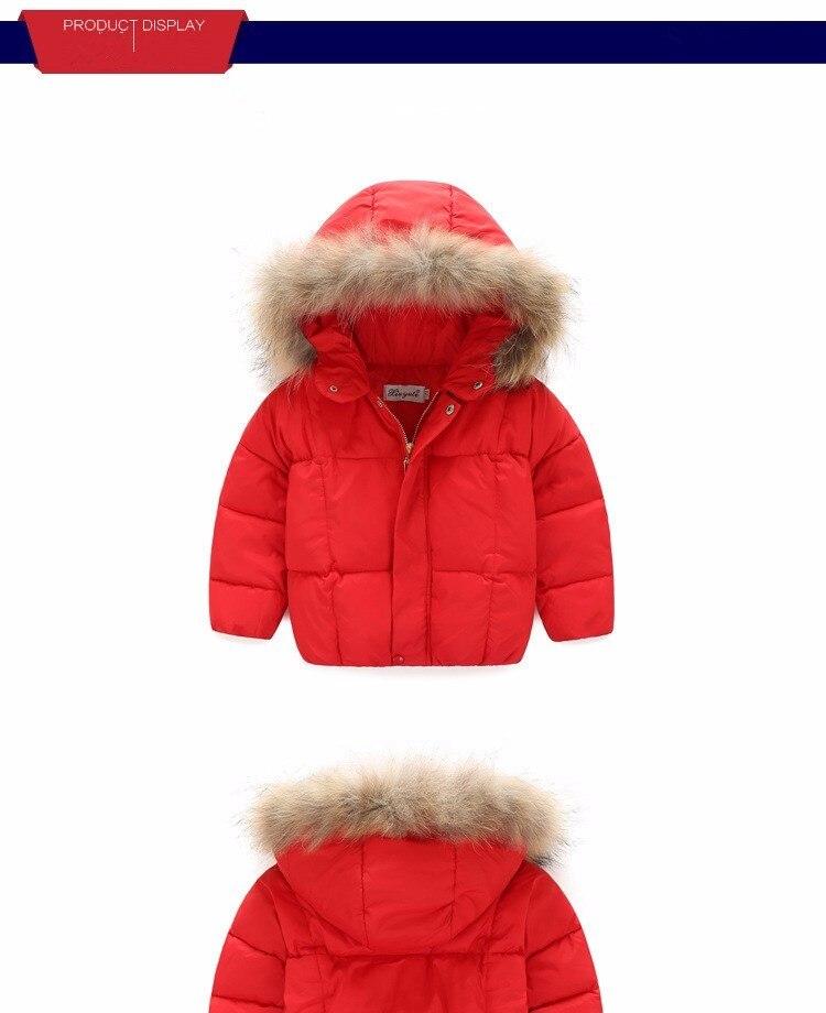 2016 jesień i zima ostatnie dzieci kurtka puchowa boys baby