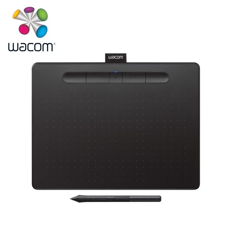 Tablette de dessin Wacom Intuos CTL-6100 tablette graphique numérique 4096 niveaux de pression taille moyenne avec logiciel Bonus