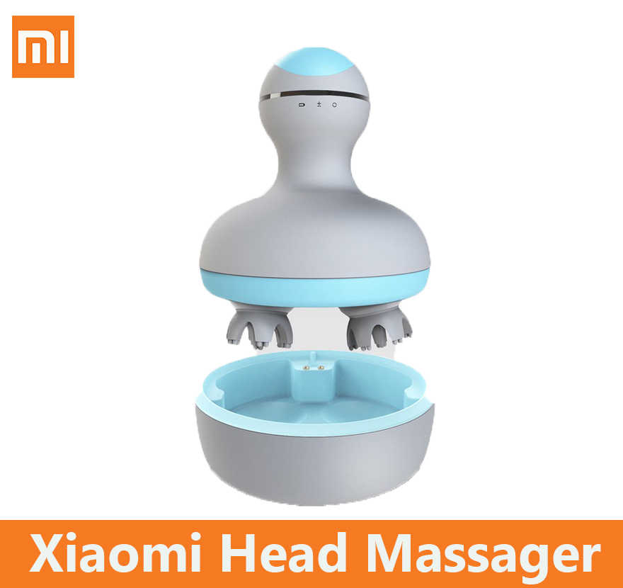 Xiaomi Mijia MINI Head Massager Comfortable 3D Stereo Massage Economic Manual Birthday Gift For Girl