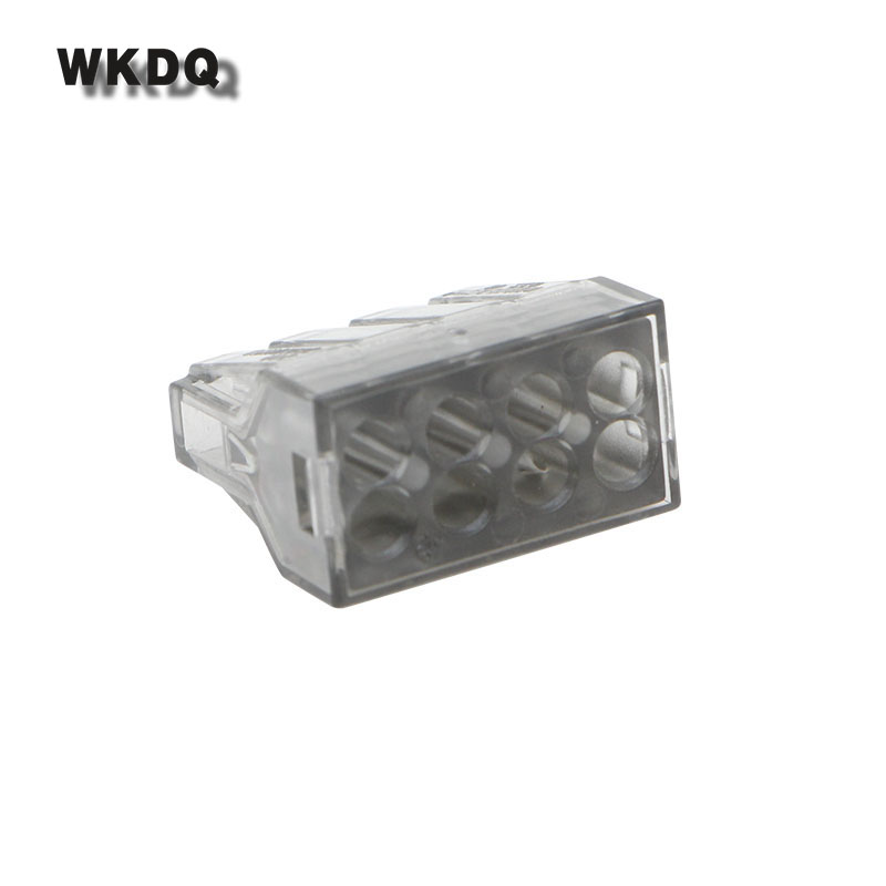 Wago 773-108 Spring Plug Push In Wire Connector Plastic Material PA66 Wago Fast Connectors 10PCS