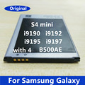 Original verdadero b500be b500ae batería recargable para l samsung galaxy s4 mini i9190 teléfono móvil accesorios de reemplazar las baterías