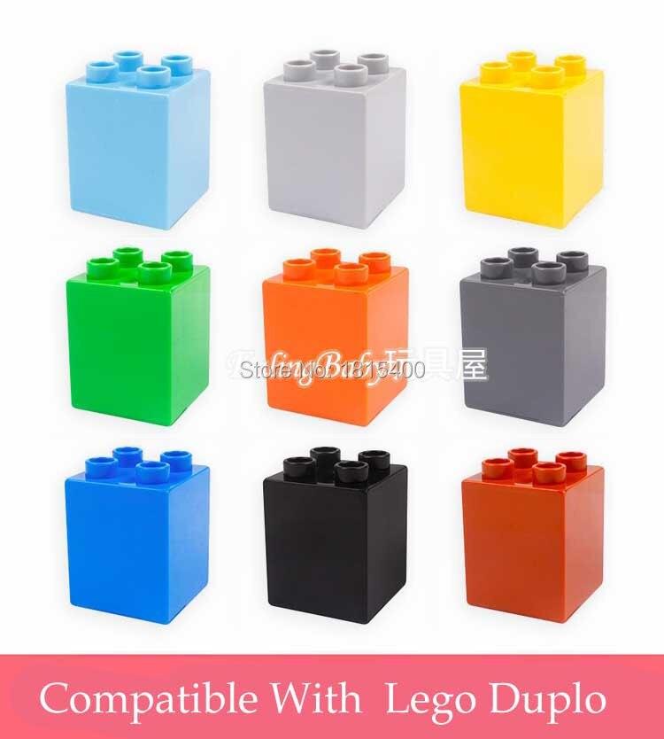 ∞Niños educativos Juguetes plástico kits ladrillos partes 3.2x3.2x3 ...