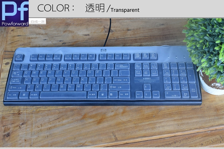 7d30f14a317 Desktop all in one office PC keyboard covers clear Keyboard Cover Protector  Skin For HP sk 2880/2885 KB 0315 0316 ku 1156-in Keyboard Covers from  Computer ...