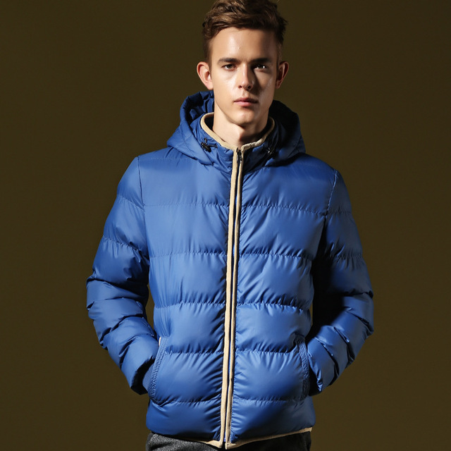 2015 North America Brand Winter Jacket Men Puffer Jacket Padded ...