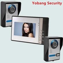Yobang Security freeship 7inch Door Camera Video door Monitor apartment villa doorphone Video intercom smart Door Access Control