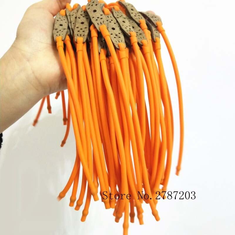 5 шт./лот охотничьи резиновые полосы скорости для полосок рогатки эластичные банджи катапульты Замена лук рогатки резинки