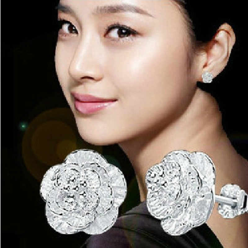 Exquisite 1Pair Women Earrings Ear Stud Jewelry Imitate Pendientes Beautiful Ornaments Pendientes Fabulous Earrings Trinket