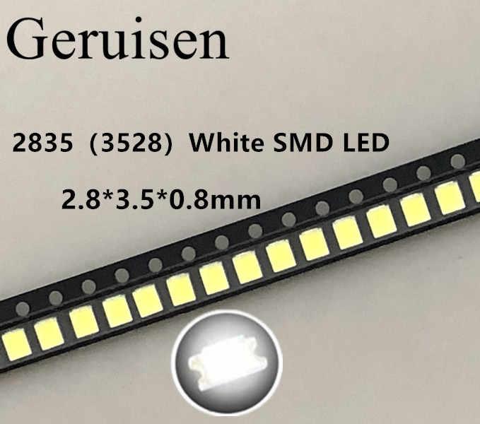 100 قطعة/الوحدة 0.2 واط مصلحة الارصاد الجوية 2835 LED خرزة مصباح 21-25lm الأبيض مصلحة الارصاد الجوية LED 3528 الخرز الأبيض كول LED رقاقة DC3.0-3.4V شحن مجاني بيع-البائع