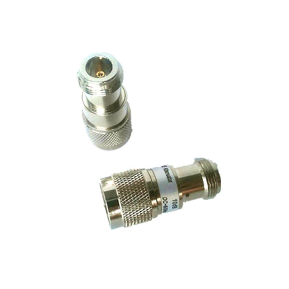 BECEB 5 W N-J.K tipo de conector RF Coaxial Atenuador DC a 6.0 GHz, DC para 13 GHz, 1-40db, 50 Ohm