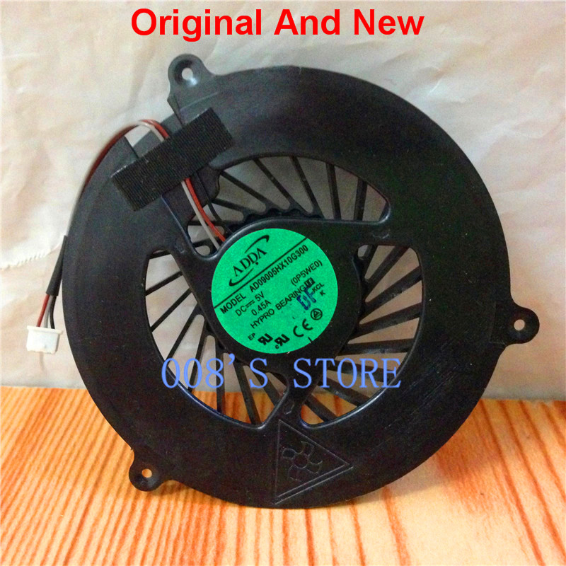 New CPU Cooler Fan For Acer 5750 5755 5350 5750G 5755G V3-551G V3-571G E1-531G E1-531 E1-571 AD09005HX10G300 0P5WE0 DC 5V 0.45A