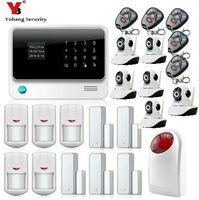 Yobang безопасности Alarma GSM WI FI Alarmanlage Homesecure дома сигнализация IP Камера Наборы магазин Alarma Alarme Maison Sans Fil