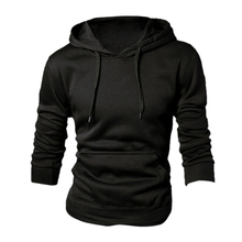 New spring/autumn Men's fashion Casual Hoddies Sweatshirts High Quality Men sportswear solid Fleece hoody 5-COLORS