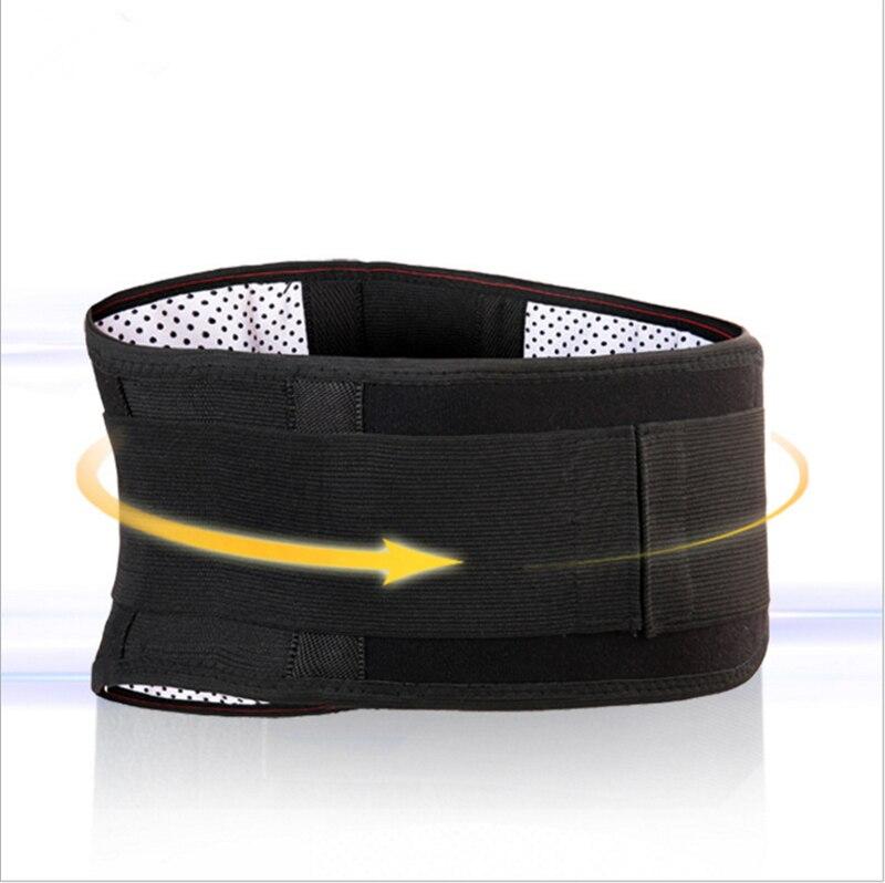 New Infrared waist Belt Lumbar Back Support Belts Brace Belt Waist Trainer toughness waist belt tourmaline self heating plate цена и фото