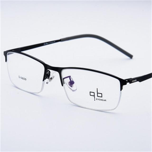 840b4d54a2e9d Man Alloy Titanium Eyeglasses Frame Men Myopia Glasses Male Classic .