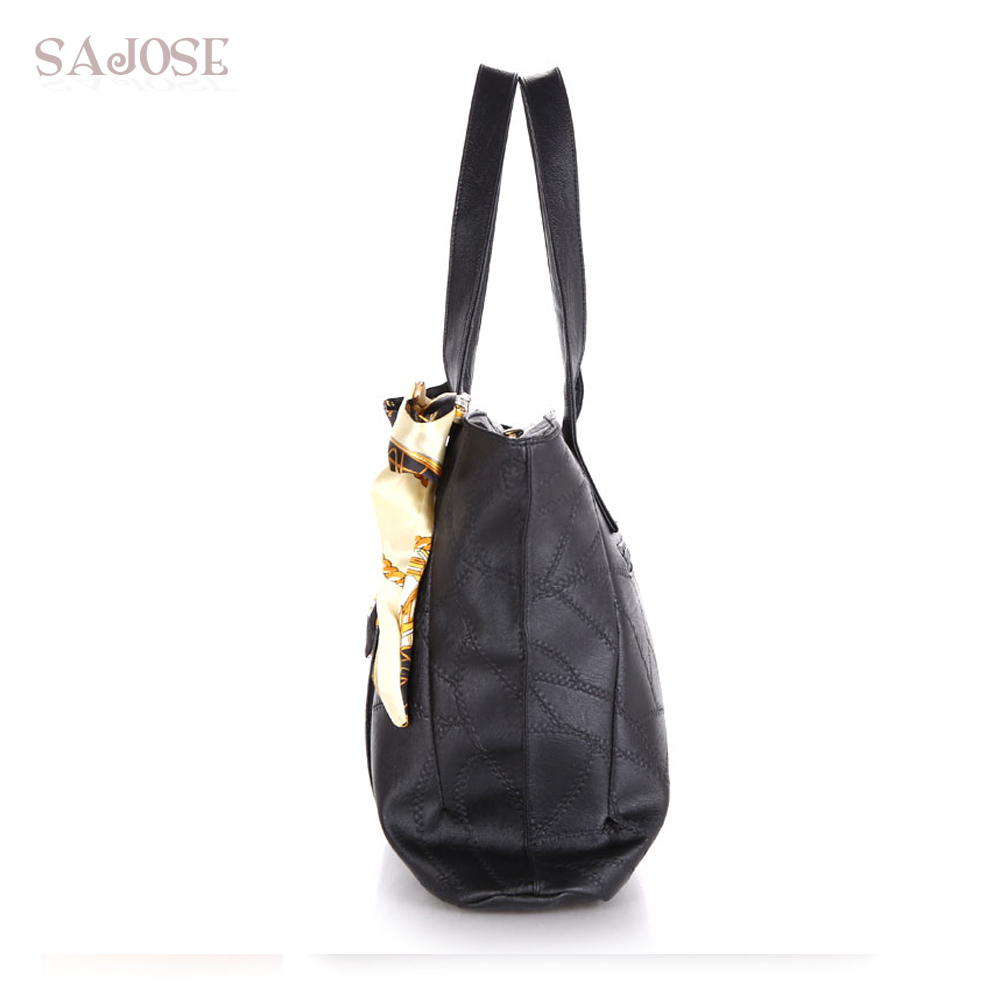 Damen Taschen PU Leder Mode Handtaschen Damen Schulter Messenger Tote - Handtaschen - Foto 3