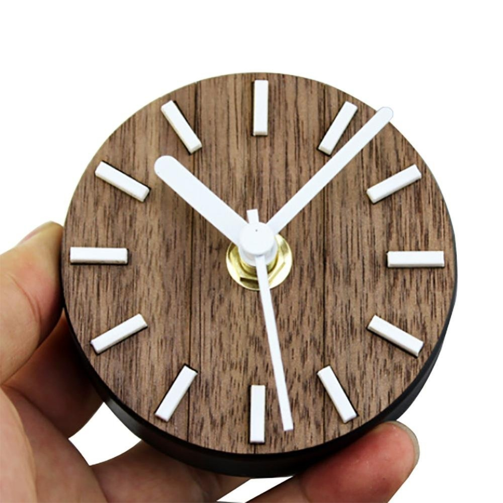 US $6.39 |Originale orologio orologio da parete design moderno autoadesiva  sticker Frigorifero magneti messaggio cucina orologio da parete Murale ...