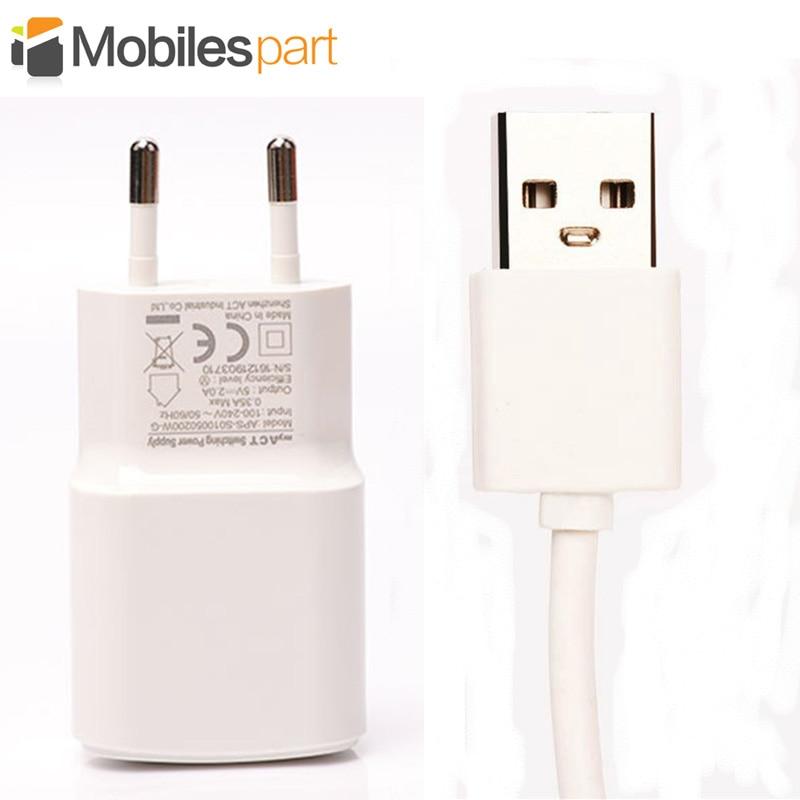 imágenes para Para Oukitel K6000 Pro Cargador + 100 cm Cable Micro USB de Alta Calidad de Europa estándar USB Cable Cargador para Oukitel K6000 Pro
