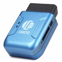 New OBD2 OBDII GPS GPRS Real Time Tracker Car Vehicle Tracking System With Geofence Protect Vibration