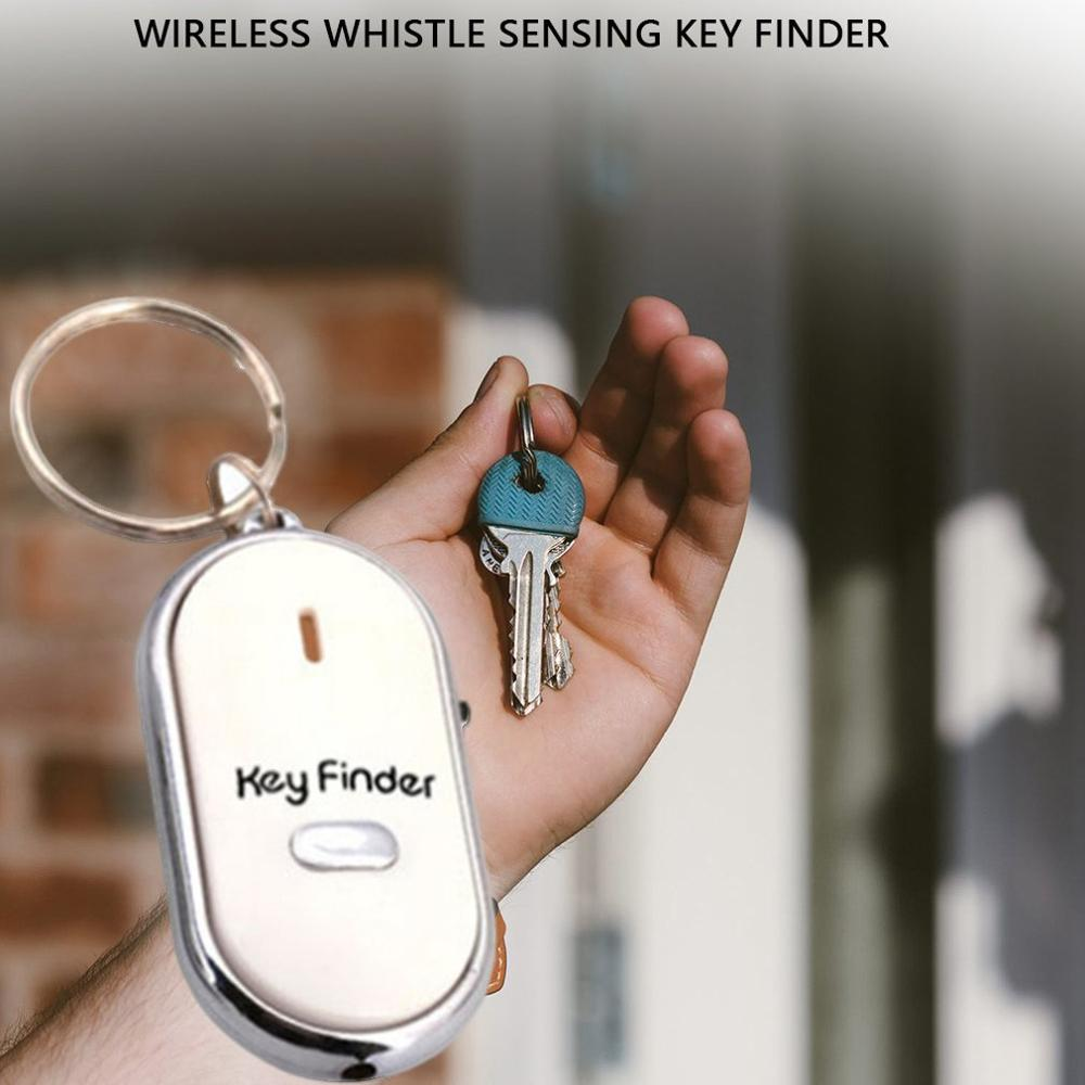 Qf12145 Wireless Whistle Sensor Key Finder Induction Loss Protector Key Links Electronic Sound Quality