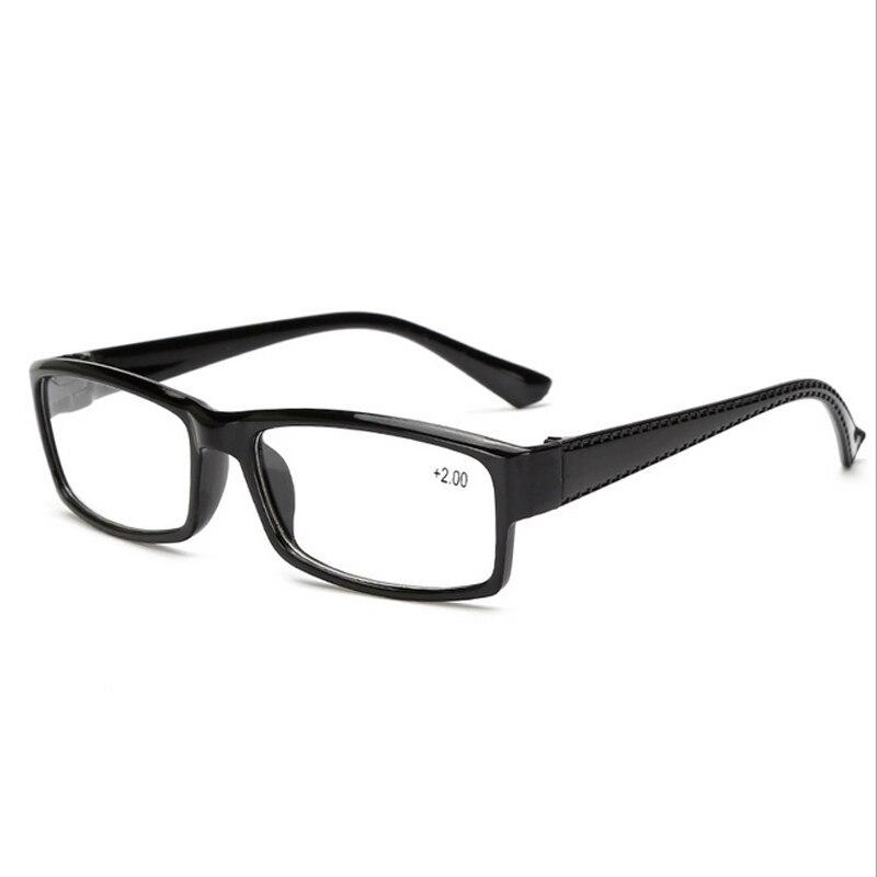 5b761c8caa8 Ultra light Classic Black Reading Glasses Women Men Frames Retro Presbyopic  Eyeglasses Eyewear degree 1.0 +1.5 +2.0 +2.5 +3.0+ 4-in Reading Glasses  from ...