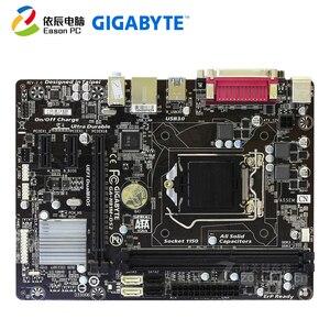 Image 1 - GIGABYTE GA H81M DS2 carte mère de bureau LGA1150 i3 i5 i7 DDR3 USB3.0 Micro atx