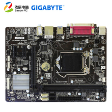 GIGABYTE GA-H81M-DS2 desktop motherboard LGA1150 i3 i5 i7 DDR3 USB3.0 Micro-ATX gigabyte ga p67a ud4 b3 desktop motherboard p67a ud4 b3 p67 lga 1155 i3 i5 i7 ddr3 32g sata3 atx