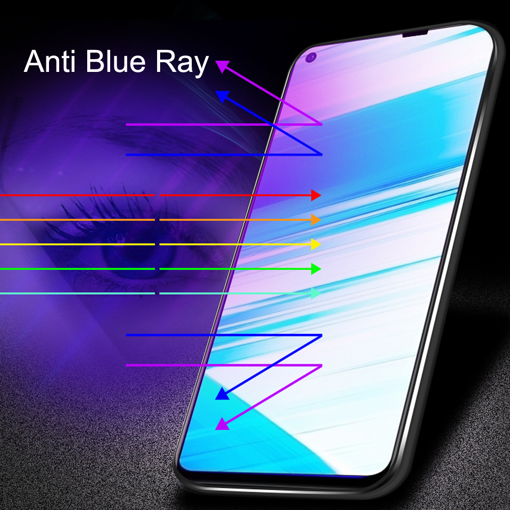 Glass Protective Film 9D Full Cover Tempered Glass For Vivo Z5X Screen Protector Anti Blue Ray Glass film in Phone Screen Protectors from Cellphones Telecommunications