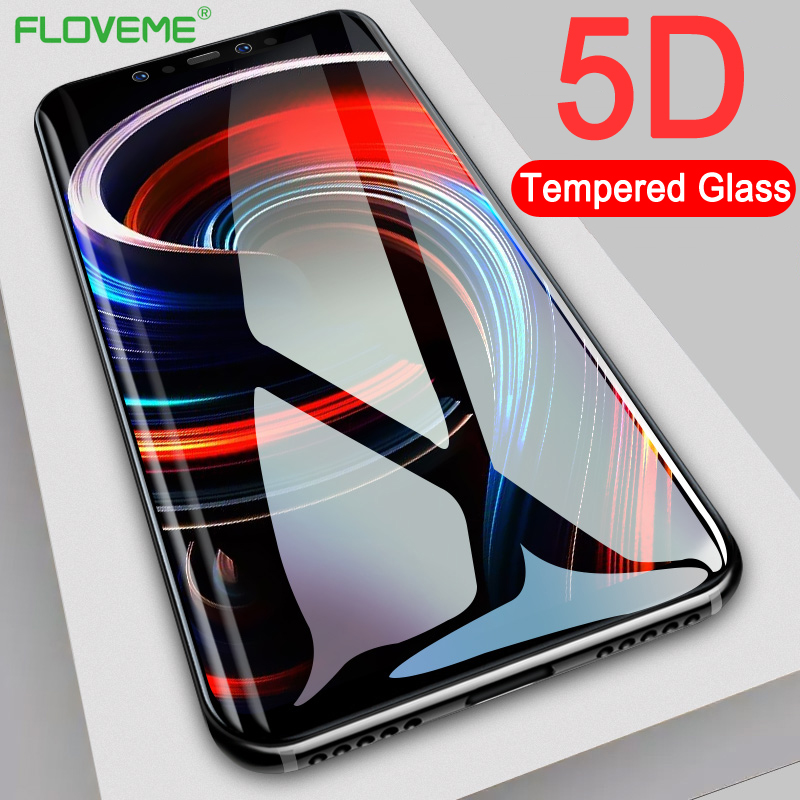 FLOVEME Protective Tempered Glass For Xiaomi Redmi Note 5 4X 5 Plus Full Screen Protector For Xiaomi Mi 8 A2 A1 Max 3 Glass Film