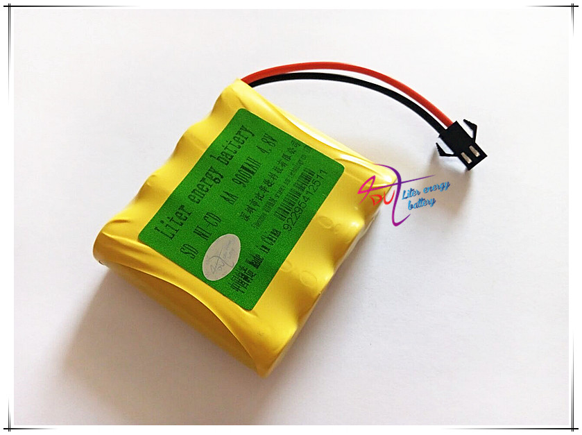 Ni-Cd 4.8 V 900mAh Liter energy battery Remote Control Toys Electric toy security facilities electric toy AA battery group