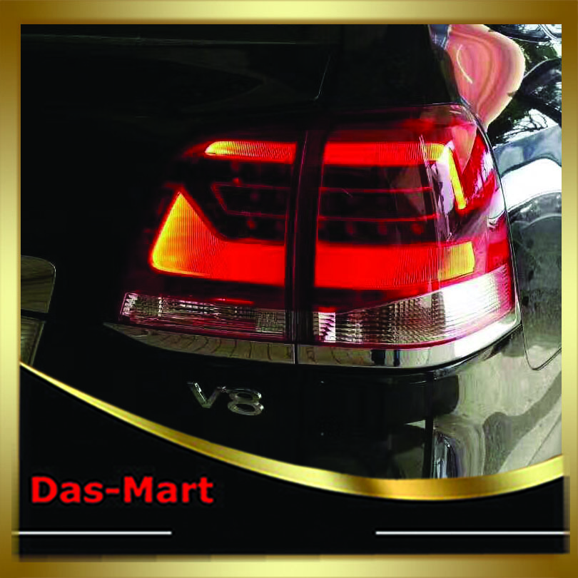 Car Styling 2008 2009 2010 2011 2012 2013 For Toyota Land Cruiser Tail Light Rear Lamp custom modify car rear trunk security shield shade cargo cover for nissan qashqai 2008 2009 2010 2011 2012 2013 black beige
