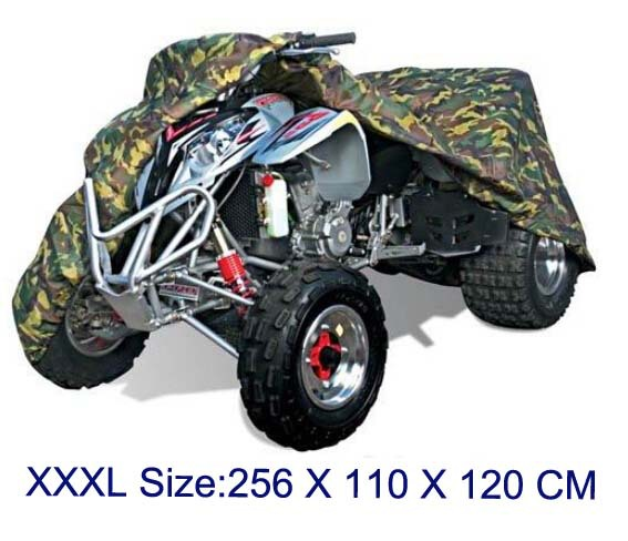 Plus XXXL size ATV Quad Bike ATC Cover Water Snow Dust Resistant up to 100 X 43 X 47 ...