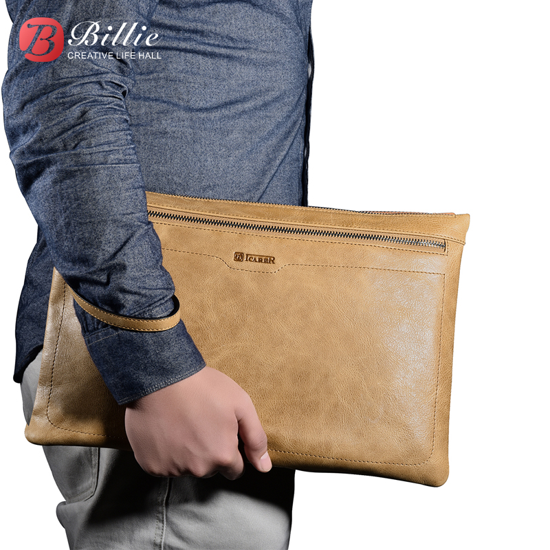 Brand Laptop Sleeve Bag Briefcase Real Leather Case Cover For Apple iPad mini 2 3 4 for Ipad air Pro 7.9 9.7 12.9 '' Handbag
