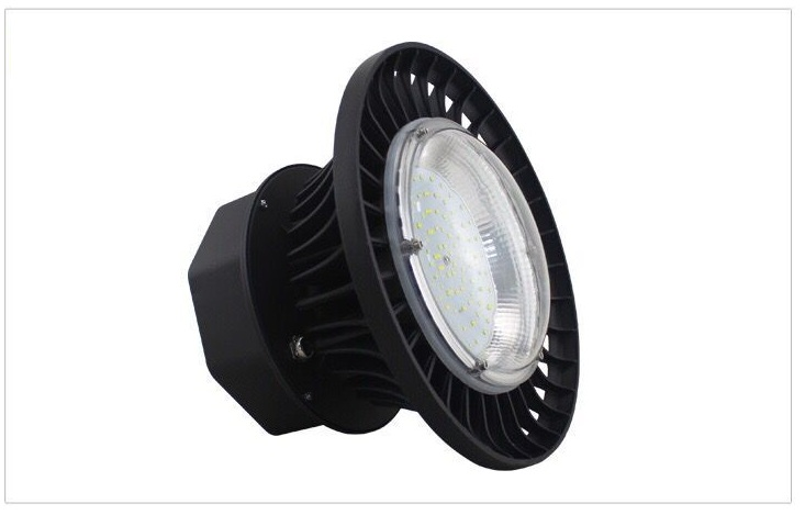 Free shipping UFO IP65 Dimmable 80W 100W 120W 150W 6000K 3000K SMD LED high bay for Ceiling warehouse factory brightinwd ufo high bay light 100w 150w 200w smd2835 high power led floodlight for factory warehouse machine lamp