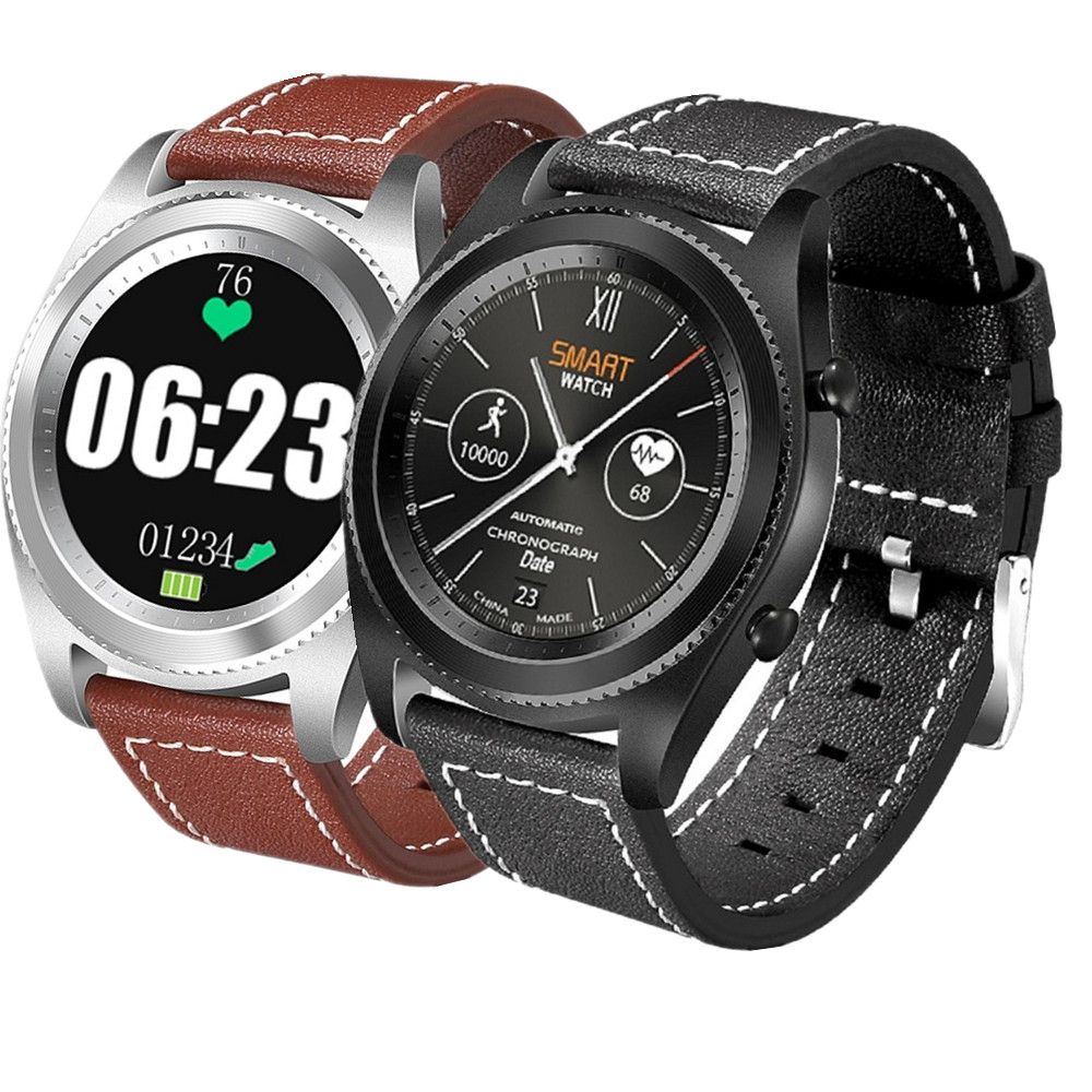Original No.1 S9 NFC MTK2502 Smartwatch Heart Rate Monitor Bluetooth 4.0 Smart watch Bracelet Wearable Devices For IOS Android