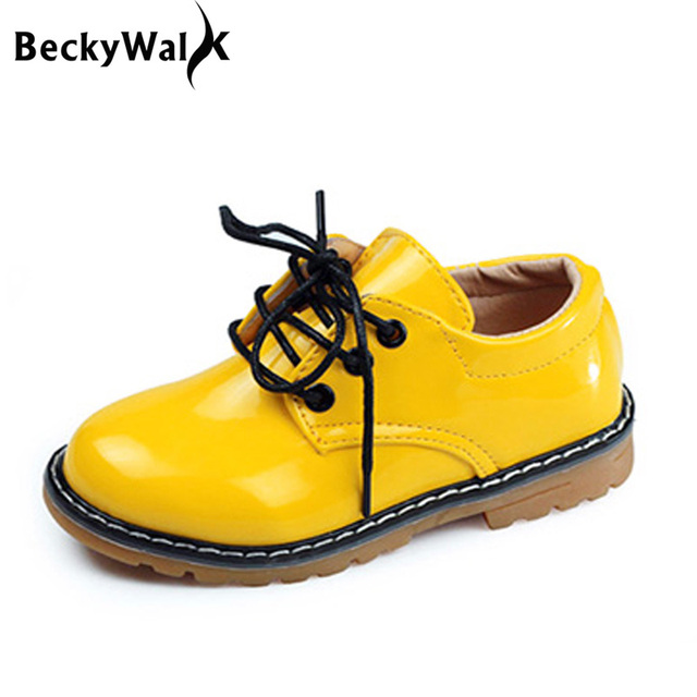 9b4ea45b03b7 Kids Shoes all Size 21- 36 Children PU Leather Sneakers For Baby Shoes  Boys Girls Leather Shoes Lace Up Child Boots CSH219