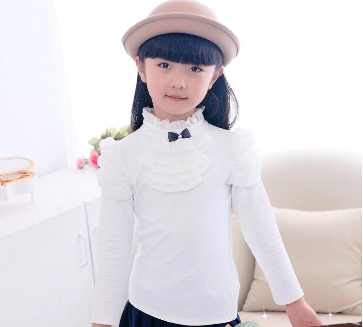 Mädchen Rollkragen Langarm Basic Pullover Kinder Frühling Herbst - Kinderkleidung - Foto 3