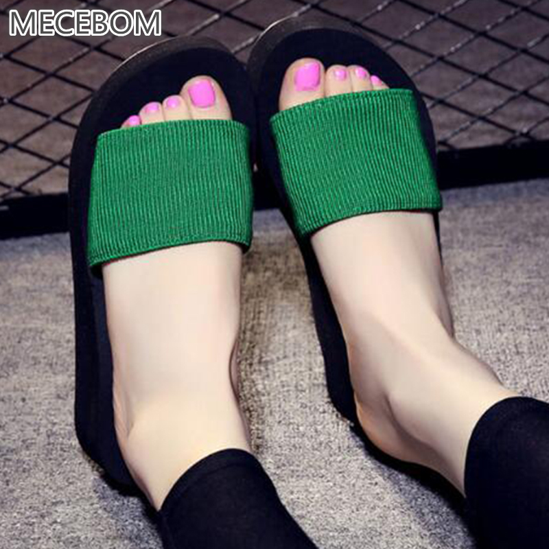 Summer Non-Slip Sandals Female Slippers For Women Flip-Flop Sandals Platform Indoor Flip Flops Slippers Sandals Hot Sale H4W цены