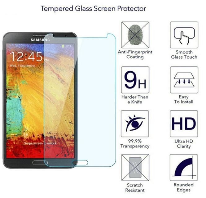 SM-N7505 / SM-N900 N9005 Պաշտպանիչ ապակու համար - Բջջային հեռախոսի պարագաներ և պահեստամասեր - Լուսանկար 5