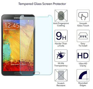 Image 5 - SM N7505 /SM N900 N9005 Protective Glass For Samsung Note 3 Note3 Neo LTE Tempered Glass Film for GALAXY Note 3 Screen Protector