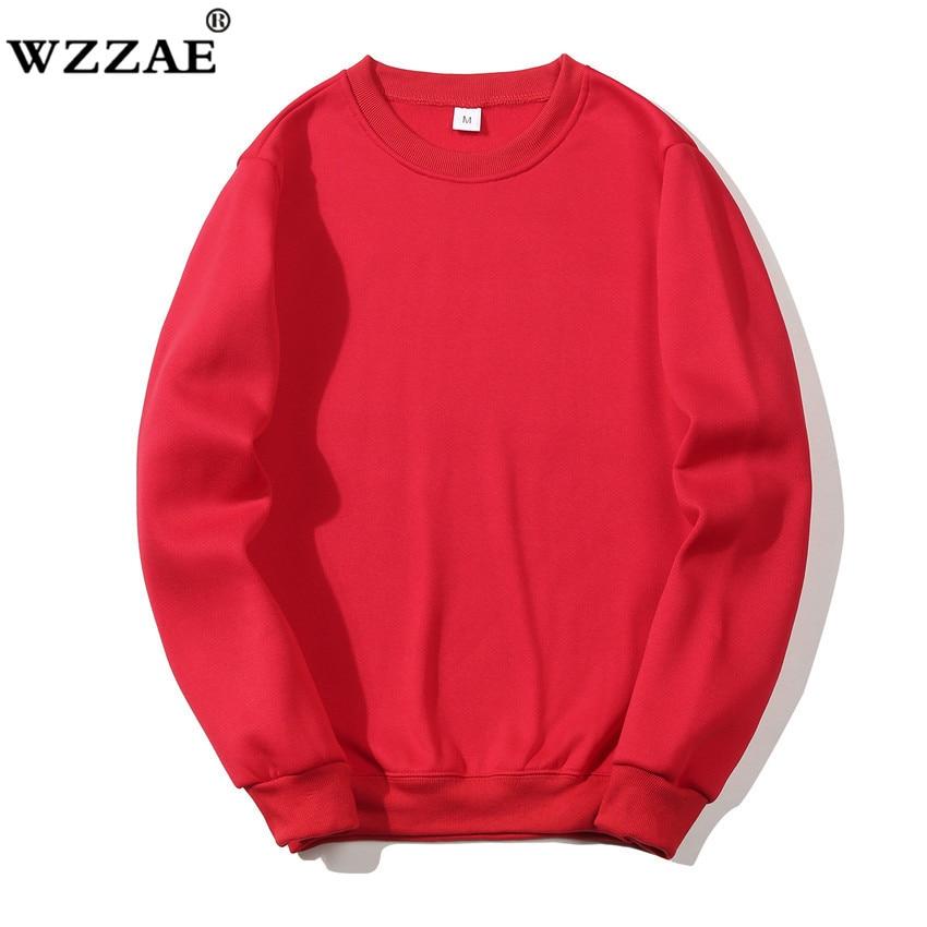 Solid Sweatshirts Spring Autumn Fashion Hoodies Male Warm Fleece Coat Hip Hop Hoodies Sweatshirts 28