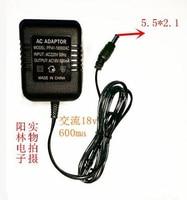 Ac 18v 600ma маршрутизатор ac dc адаптер зарядка роутера 18v 0.6a высокое качество