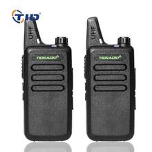 TID Mini Walkie Talkie UHF 400-470 MHz Handheld CB Radio Transceiver Two Way Radio Communicator